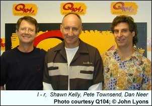 Pete Townsend Visits Q104
